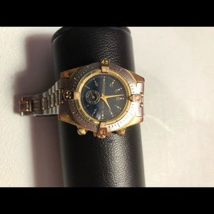 Guess women's watch, wrist brand is small.